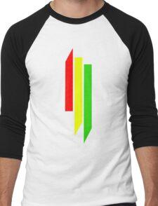 Skrillex Rasta Logo Men's Baseball ¾ T-Shirt