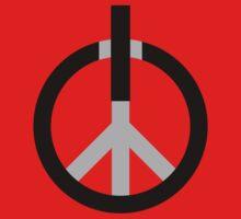Peace Power: Press ON! Baby Tee