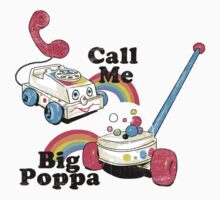 Call Me Big Poppa Kids Tee