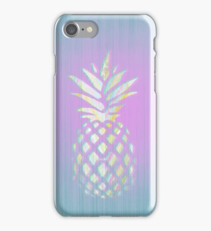 Pink pineapple fruit - Hawaii style phone case  iPhone Case/Skin