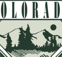 "Marijuana Colorado Springs ""Live It Up"" Sticker"