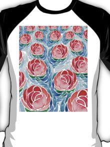 Lotus. Amazing pattern with lotuses T-Shirt