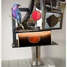 Exoplanet Bird House #7 by Tom Golden