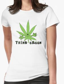 Think Green Marijuana T-Shirt