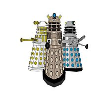 Evolution Of The Daleks Photographic Print