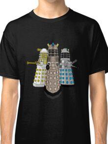 Evolution Of The Daleks Classic T-Shirt