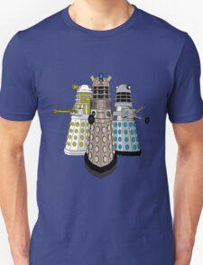 Evolution Of The Daleks Unisex T-Shirt