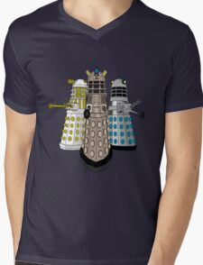 Evolution Of The Daleks Mens V-Neck T-Shirt