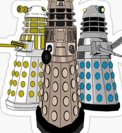 Evolution Of The Daleks Sticker
