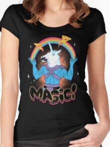 Magic! Women's Fitted Scoop T-Shirt