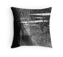 Hmmm, where's the glazier's phone number? Throw Pillow