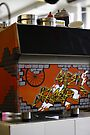 Cafe graffiti - Cafe Racer, Melbourne by Ell-on-Wheels