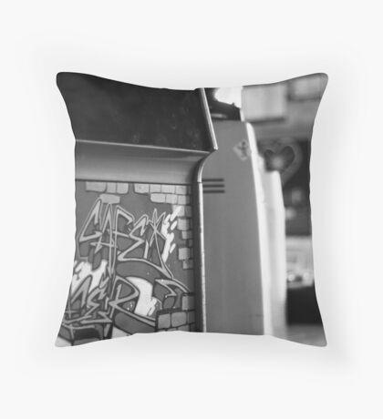 Cafe Racer Throw Pillow