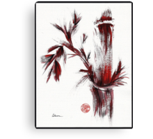 INSPIRIT - Chinese wash painting Canvas Print
