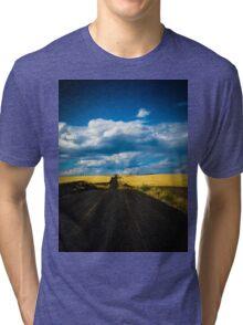 road less taken Tri-blend T-Shirt