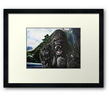 KONG Framed Print