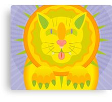 Sun Cat Canvas Print