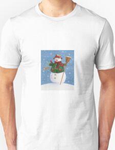 Cute Country Snowman T-Shirt