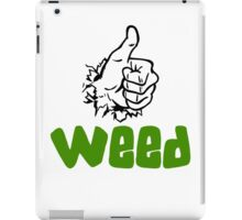 I Love Weed iPad Case/Skin