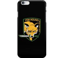 "MGS - ""FOX HOUND"" Logo iPhone Case/Skin"