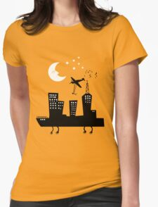 Dream City Womens Fitted T-Shirt