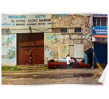 Dealers of Japanese Motor Spares in Nairobi, KENYA Poster