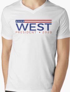West for President Mens V-Neck T-Shirt