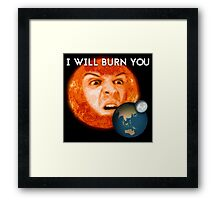 Moriarty - I Will Burn You Framed Print