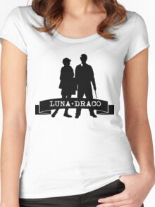 Draco X Luna Women's Fitted Scoop T-Shirt