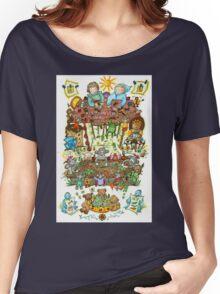 Magical Gardens Women's Relaxed Fit T-Shirt