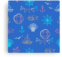 Sea voyage Canvas Print