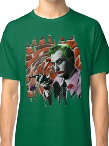 The Joker + Vincent Price Mashup Classic T-Shirt