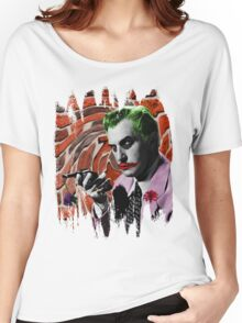 The Joker + Vincent Price Mashup Women's Relaxed Fit T-Shirt