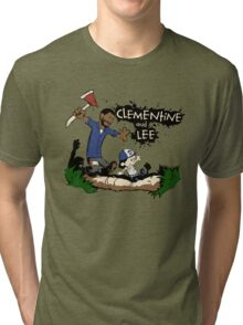 Clementine and Lee Tri-blend T-Shirt