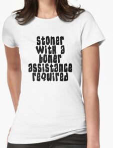 Stoner Womens Fitted T-Shirt