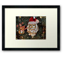 Ho Ho Ho ... Framed Print