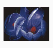 Purple Flower One Piece - Short Sleeve
