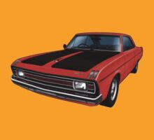 Chrysler Valiant VG Pacer Coupe - Hemi Orange T-Shirt