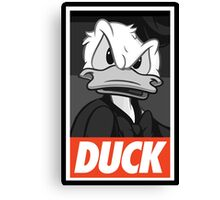 DUCK (Donald Duck) Canvas Print