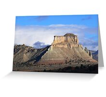 Mesa near Kodachrome Basin Greeting Card