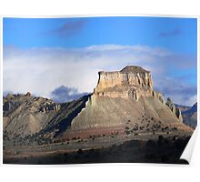 Mesa near Kodachrome Basin Poster