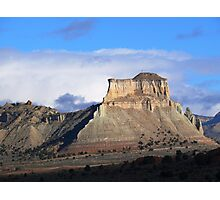 Mesa near Kodachrome Basin Photographic Print