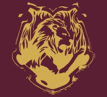 Gryffindor Silhouette - Gold by dopefish