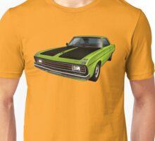 Chrysler Valiant VG Pacer Coupe - Green Go Unisex T-Shirt