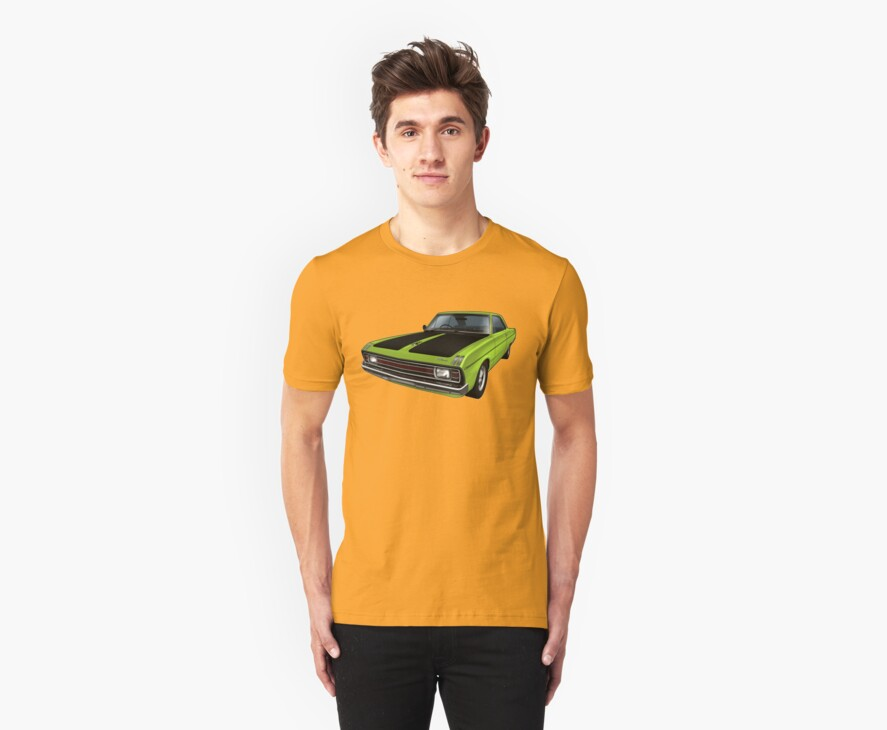 Chrysler Valiant VG Pacer Coupe - Green Go by tshirtgarage