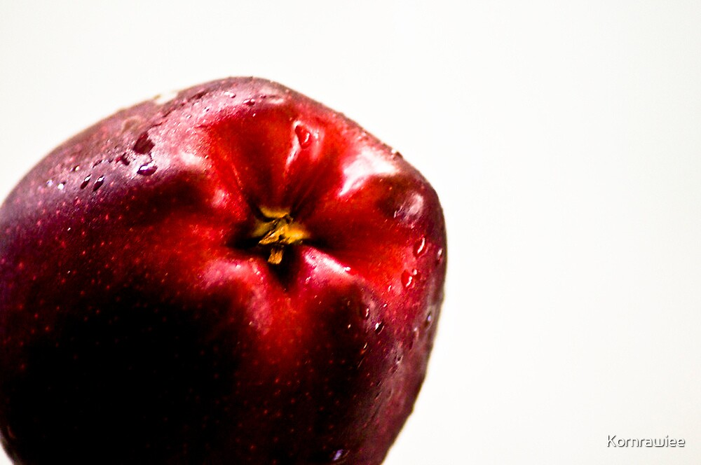 An apple a day by Kornrawiee