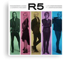 R5 Canvas Print
