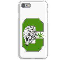 White Rhino Marijuana iPhone Case/Skin