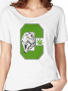White Rhino Marijuana Women's Relaxed Fit T-Shirt