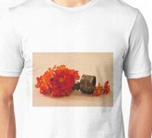 Orange Zinnias Unisex T-Shirt